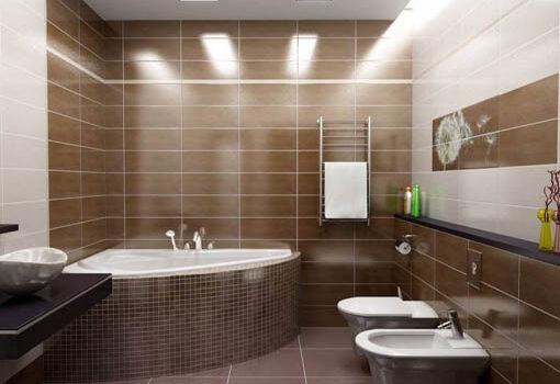 современная ванна